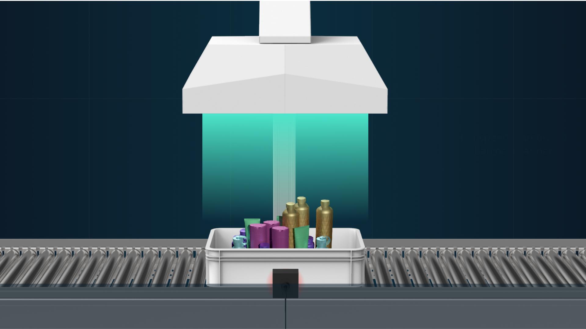 Die ivii.photostation für Prozessbeschleunigung beim Scannen von Produkten