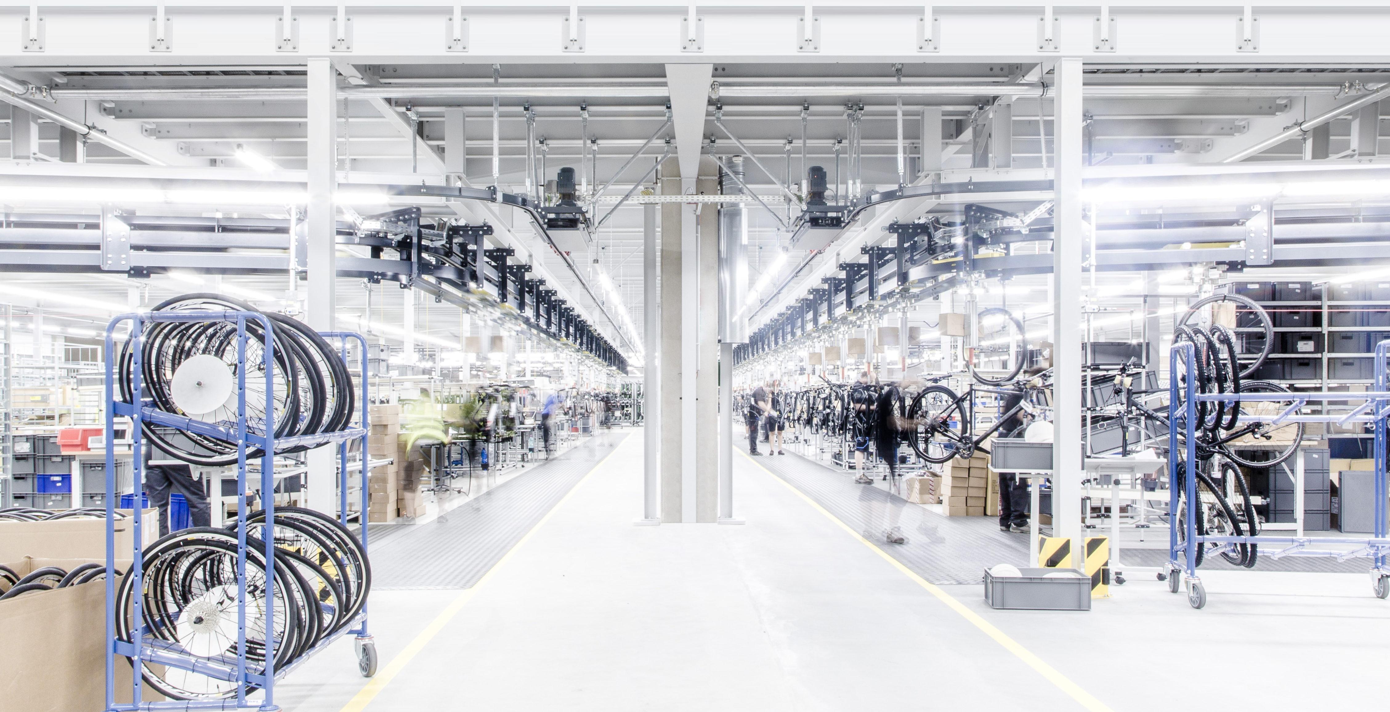 Cube Bike Warehouse managed via Tools by DIGITAL2GO